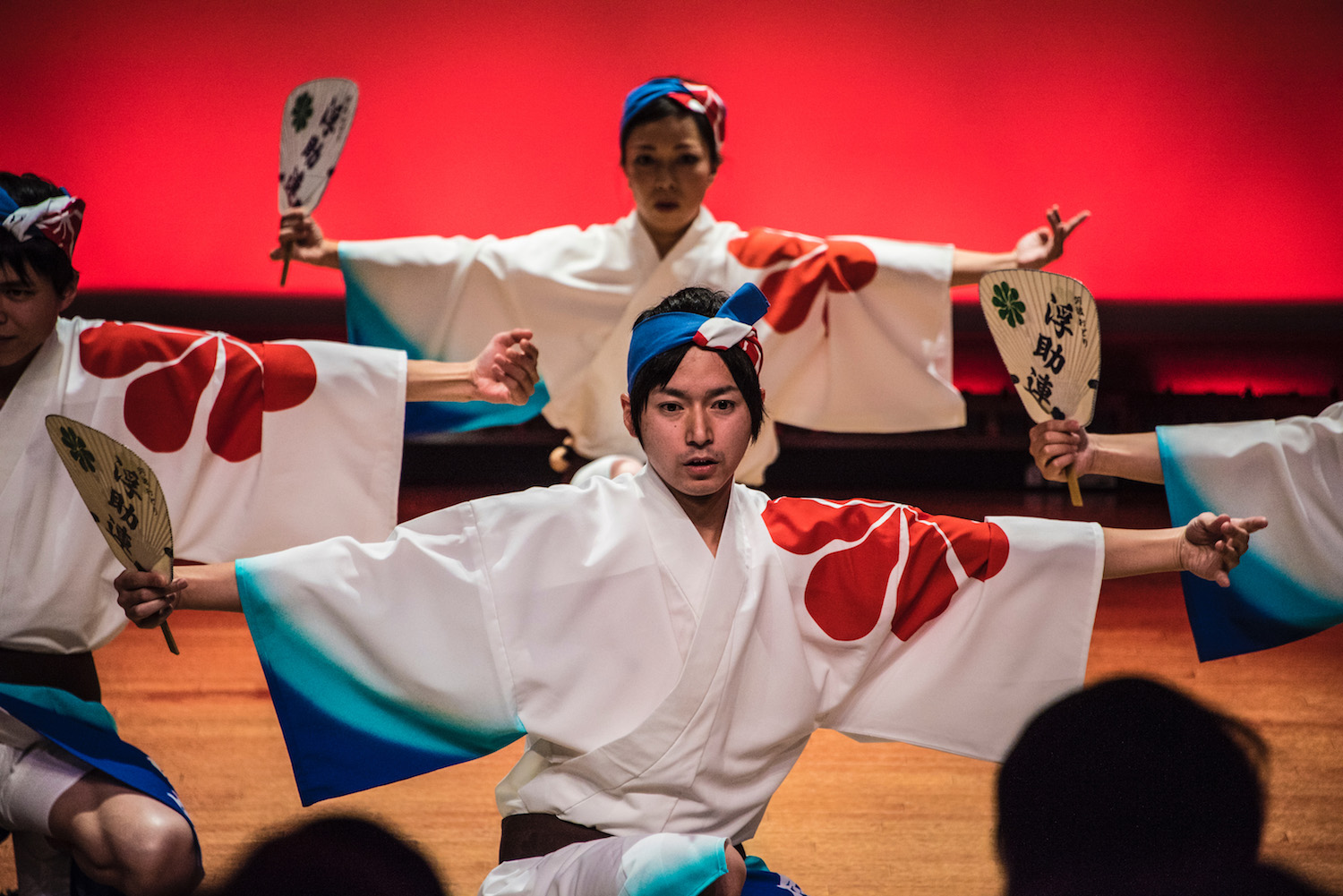 Awa Odori Dance in Tokushima, Japan