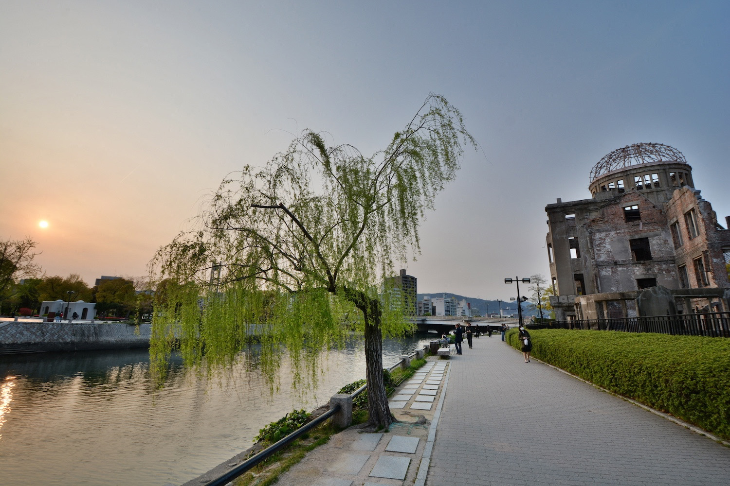 Peace Park in Hiroshima, Japan