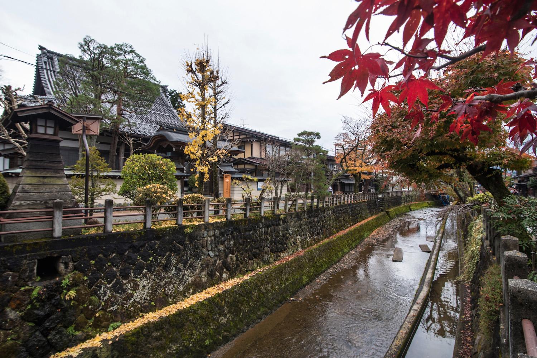Fall colors in Gifu, Japan