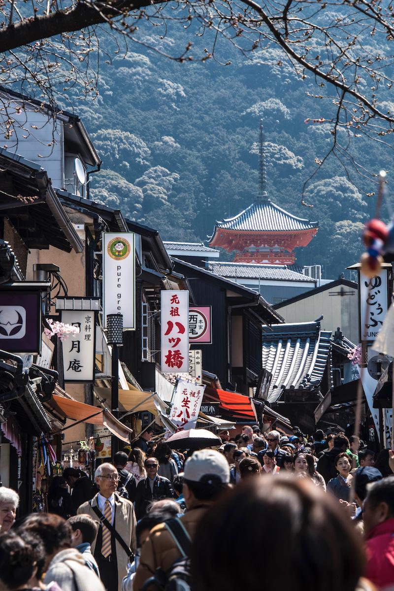 Road to Kyoto Kiyomizu-dera Temple