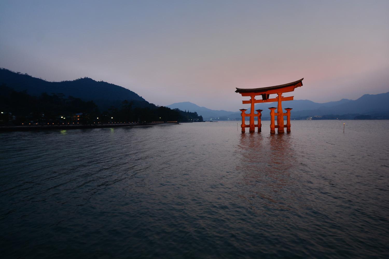 Floating Gate in Miyajima, Japan