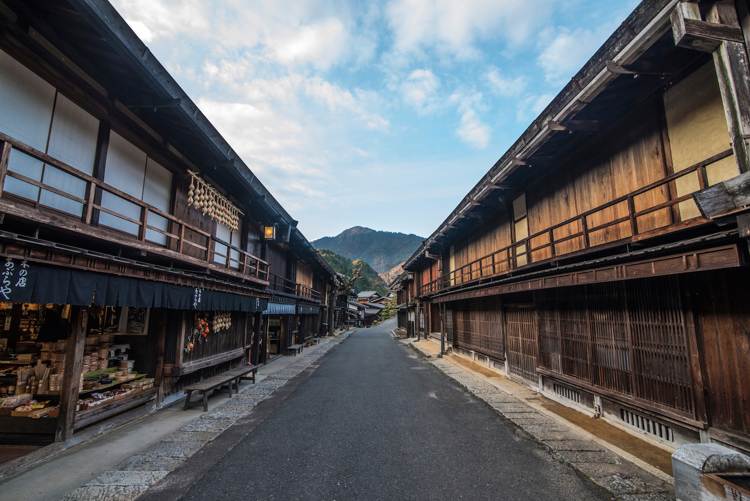 Nakasendo in the Japanese Alps