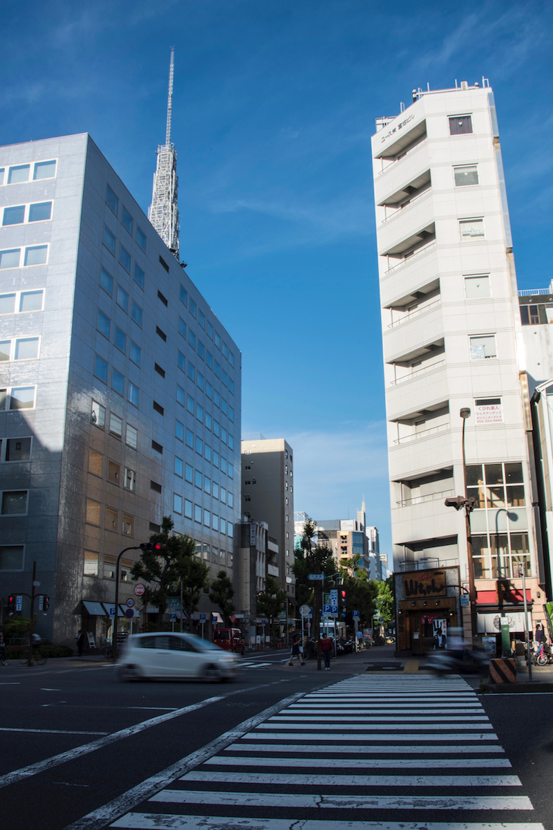 Street scene in Nagoya, Japan
