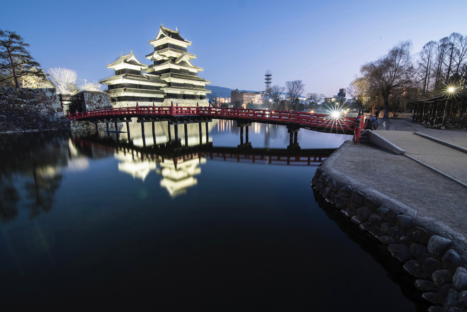 Matsumoto Castle in the Japanese Alps