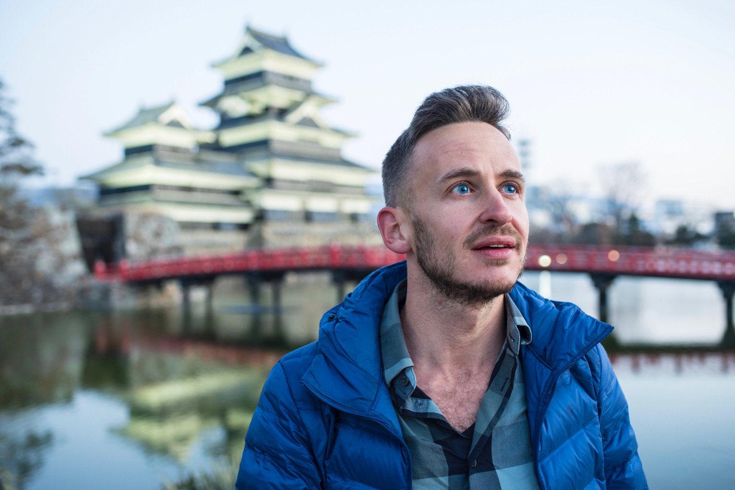 Robert Schrader in Kamikochi, Japan
