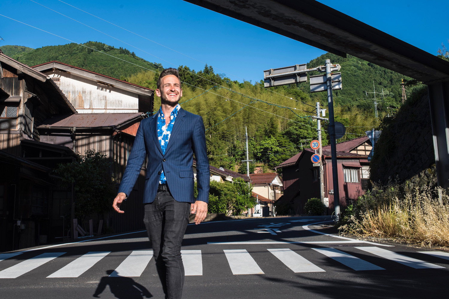 Robert Schrader exploring Japan off the beaten path