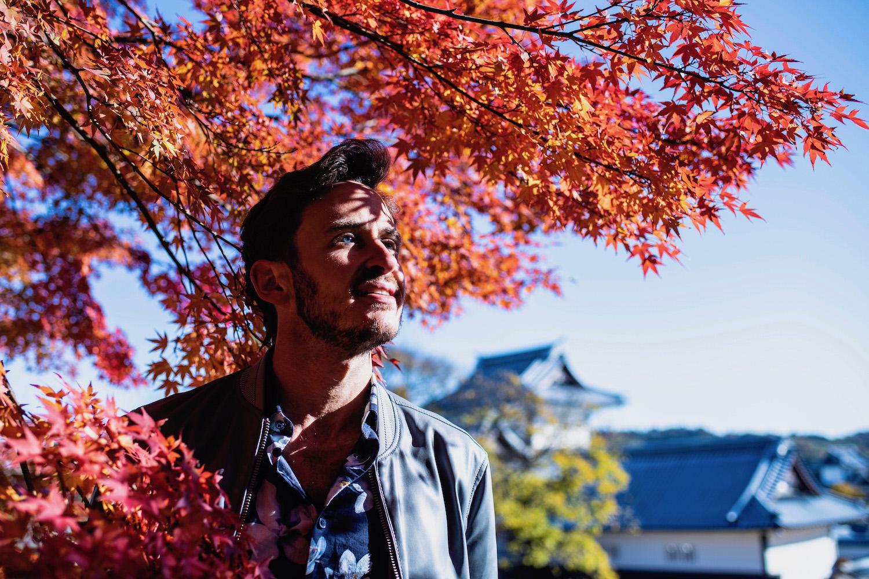 Robert Schrader in Kanazawa, Japan