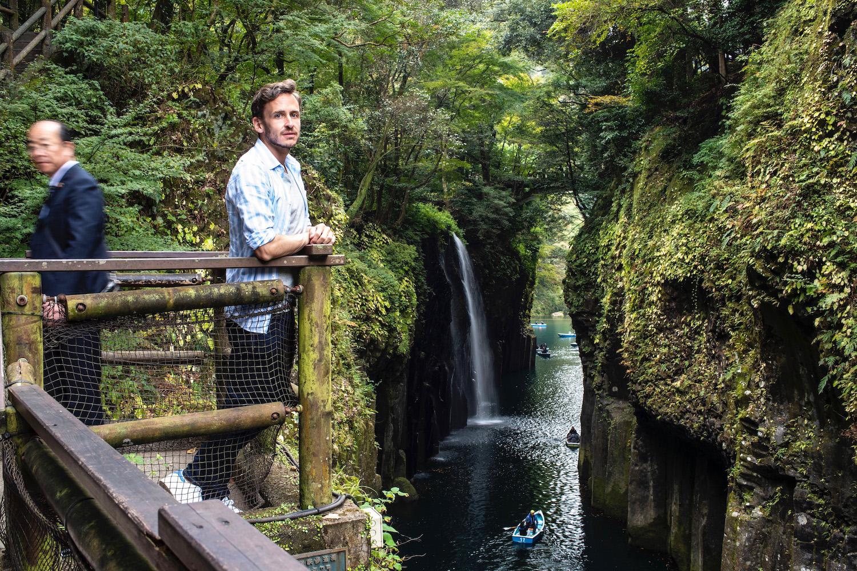 Robert Schrader at Takahicho Gorge