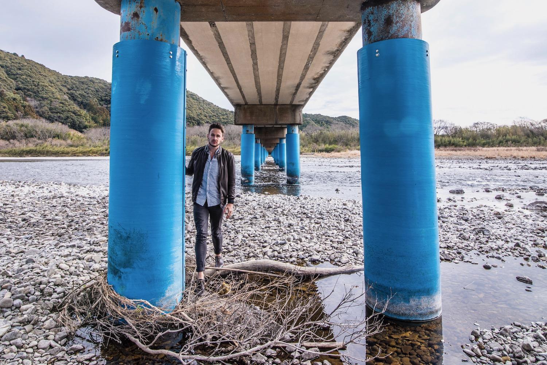 Robert Schrader in Shikoku, Japan