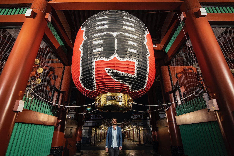 Robert Schrader in Tokyo, Japan